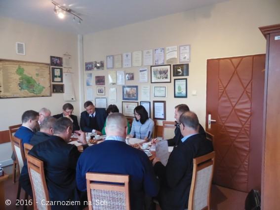 Spotkanie z włodarzami gmin  - Czarnoziem Na Soli