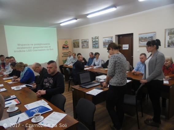 Szkolenie dla beneficjentów - 20.01.2017 r. - Czarnoziem Na Soli