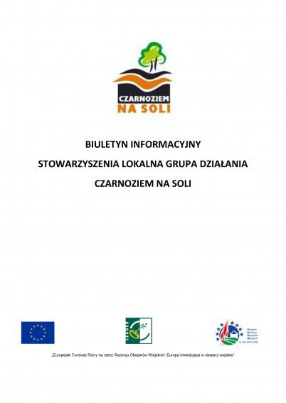 Biuletyn informacyjny LGD  - Czarnoziem Na Soli